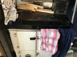 Regent ray-burn coal and wood, boiler heating water