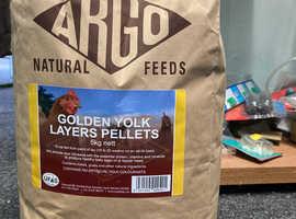 ARGO 5Kg Golden Yolk Layers Pellets