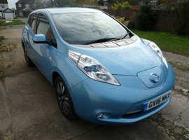Nissan Leaf 30kwh Battery, Electric Vehicle, Blue, Tekna