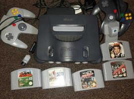 £30 Nintendo 64. Used.