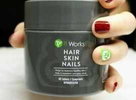 Beautiful, Strong and carefree - let your hair down with hair skin and nails