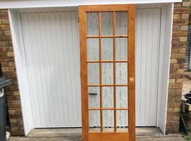 Glazed internal door,  FREE to collector