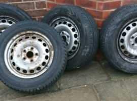 4 like new tyres