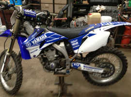 BREAKING YAMAHA YZ450F ATHENA MOTOCROSS 2009 ALL PARTS AVAILABLE . PERFECT ENGINE.