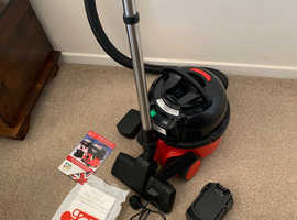 Battery operated Henry Vacuum Cleaner