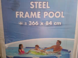 12 ft round swimming pool by intex brand new in box