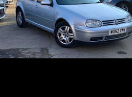 Volkswagen Golf, 2002 (52) Silver Saloon, Manual Diesel, 187,000 miles