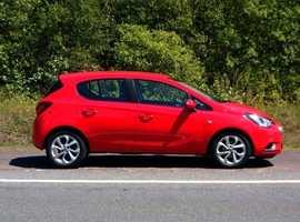 Vauxhall Corsa, 2016 (66) Red Hatchback, Manual Petrol, 38,000 miles