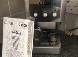 Gaggia professional coffee maker
