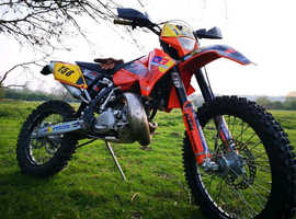 Ktm 200 EXC, dirt bike, 2 stroke 2006
