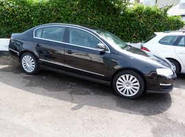 Volkswagen Passat, 2009 (59) Black Saloon, Manual Diesel, 117,166 miles