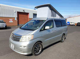 Toyota Alphard by Wellhouse 2.4i Auto 2 berth elevating roof ready to go