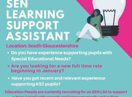 Learning Support Assistant – Full Time – South Gloucestershire