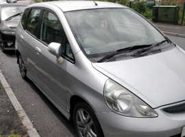 Honda Jazz, 2004 (54) Silver Hatchback, Manual Petrol, 11,100 miles