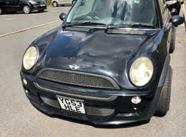 Mini MINI, 2003 (53) Black Hatchback, Manual Petrol, 94,000 miles