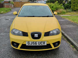 Seat Ibiza, 2006 (56) Yellow Hatchback, Manual Petrol, 83,000 miles