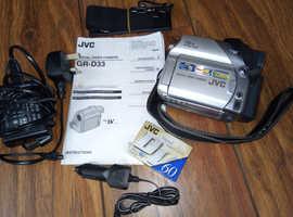 JVC GR-D33 DIGITAL VIDEO CAMERA