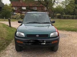 Toyota Rav4, 1997 (P) Green Estate, Manual Petrol, 145,112 miles