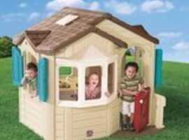Step2 Welcome Home Playhouse - very good condition REDUCED!!