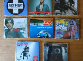 CD Singles Selection of Music to Suit All Tastes 8 Singles In Total All As New Condition 30p Each