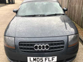 Audi TT, 2005 (05) Grey Coupe, Manual Petrol, 114,000 miles