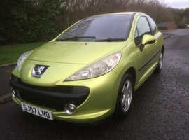 Peugeot 207,   207 1.4 SPORT , **61444 **MILES , SERVICE HISTORY ,   MOT MAY 2020 ,