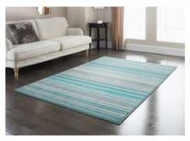 Striped rug for sale