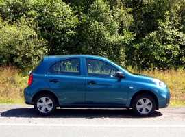 Nissan Micra, 2014 (14) Blue Hatchback, Manual Petrol, 37,000 miles