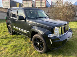 2008 Jeep Cherokee 2.8 CRD Limited 5dr Auto - 12 MONTHS MOT