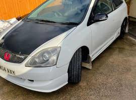 Honda Civic, 2004 (04) White Hatchback, Manual Petrol, 108,303 miles