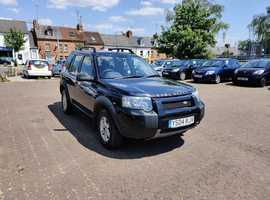 Land Rover Freelander, 2004 (04) Black Estate, Manual Diesel, 113,952 miles