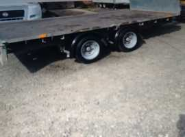 Ifor Williams LM126G model with 8ft Ali ramps ( no vat )