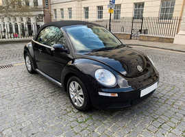 Volkswagen Beetle 2.0 Cabriolet / 2008 / 26000 miles / Black Convertible / Manual Petrol
