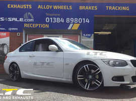 "Set of Staggered DRC DMF 19"" Alloy Wheels for BMW 3 series"