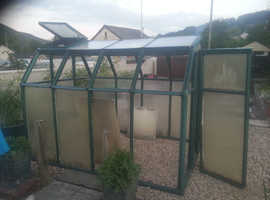 Strong plastic greenhouse