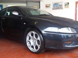 Alfa Romeo ALFA GT, 2008 (08) Black Coupe, Manual Petrol, 105,343 miles