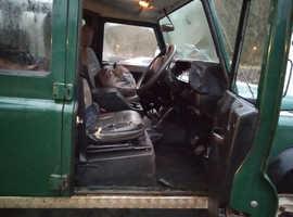 Land Rover Defender, 2005 (05) green estate, Manual Diesel, 181068 miles