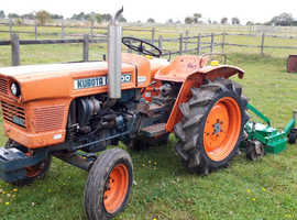 Kubota L1500 compact tractor with 4ft finishing mower £2850 ono