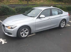 BMW 3 Series, 2014 (63) silver saloon, Manual Diesel, 152869 miles