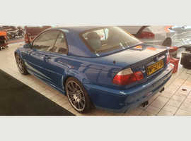 BMW 3 Series, 2003 (52) Blue Convertible, Manual Petrol, 112,000 miles