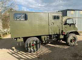 1959/1960s ex polish radio truck