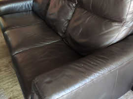 FREE - 2 and 3 seater leather sofa