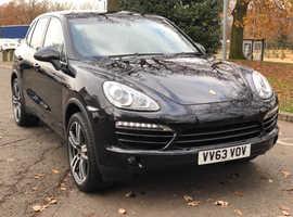 Porsche Cayenne, 2013 (63) Black 4x4, Automatic Diesel, 53,000 miles