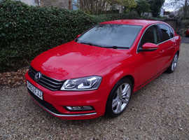 LOW ROAD TAX DIESEL Volkswagen Passat 1.6 TDi Bluemotion Tech R-Line  4dr   2013 (63)