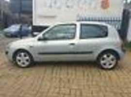 Renault Clio, 2002  1 OWNER (02) Silver Hatchback, Manual Petrol, 78,000 miles