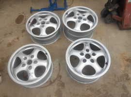 Wheel rims for Porsche 911/993