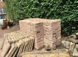 Free Block Pavers !  No cost way to make or extend your drive or patio !!