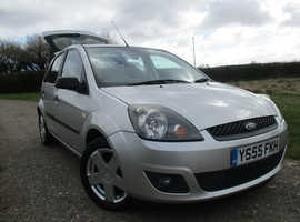 Ford Fiesta, 2005 (55) Silver Hatchback, Manual Petrol, 114,450 miles