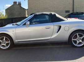 Toyota Mr2, 2005 (55) Silver Convertible, Manual Petrol, 73,129 miles