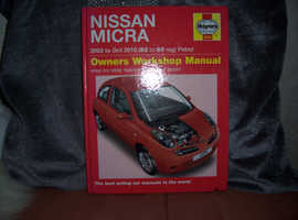 nissan micra workshop service and repair manual